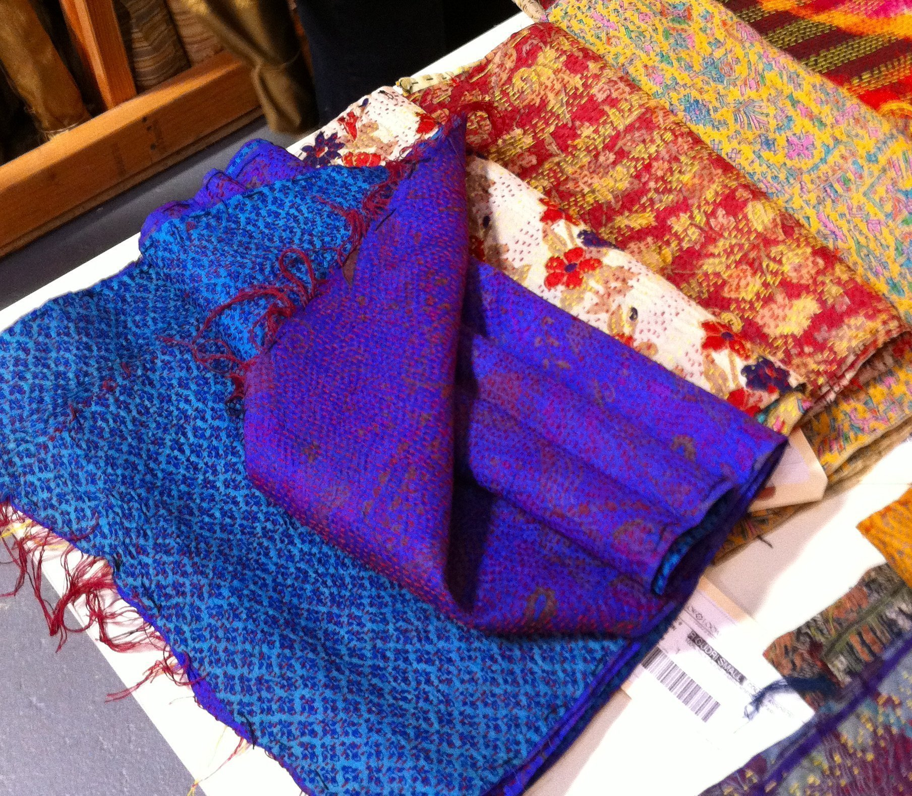 Color Loom - Ghudri Scarves