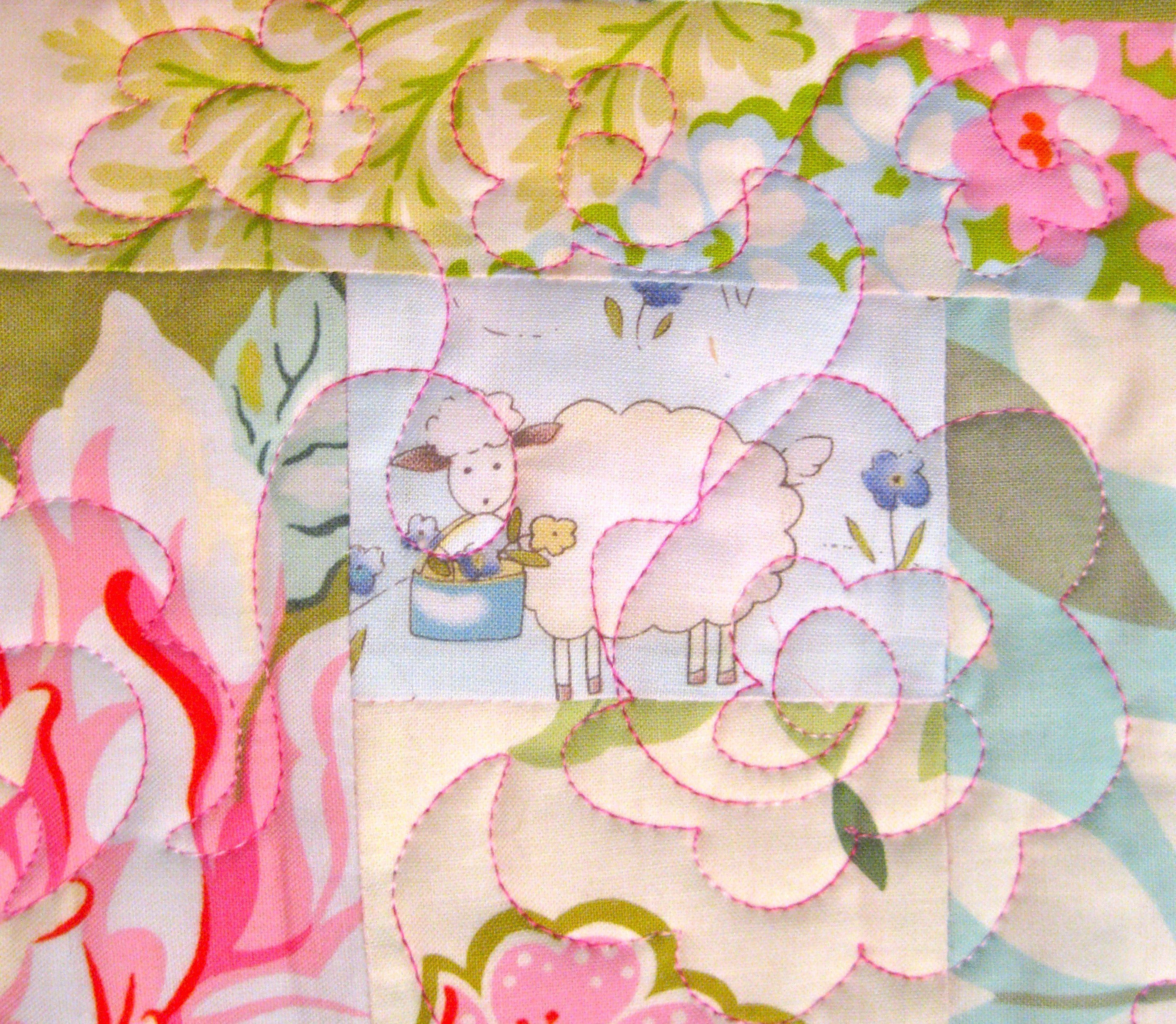 Detail of quilting
