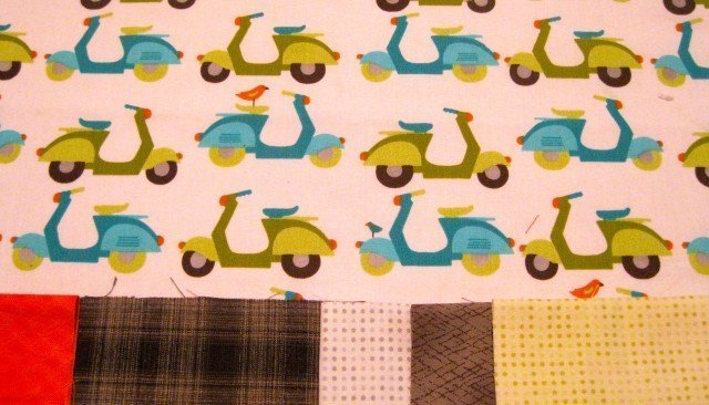 Scooters with some great fabrics