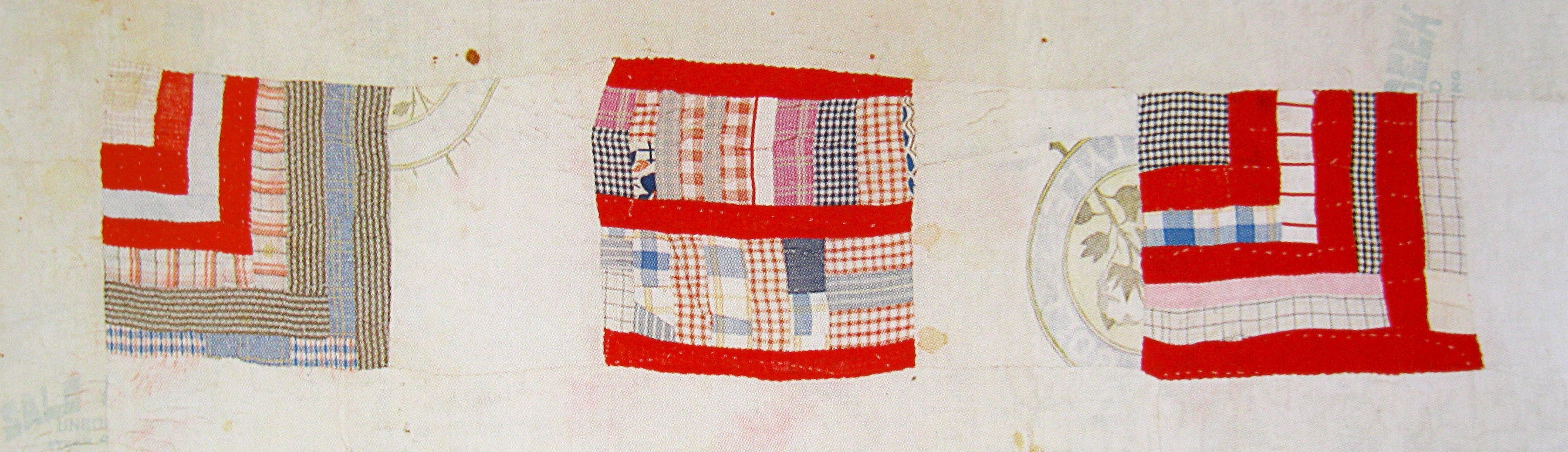 detail of Housetop, by Rachel Carey George; c. 1935
