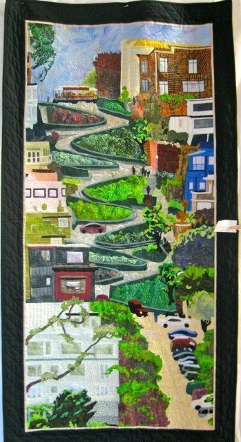 Lombard Street, by Susan Lane; 2010