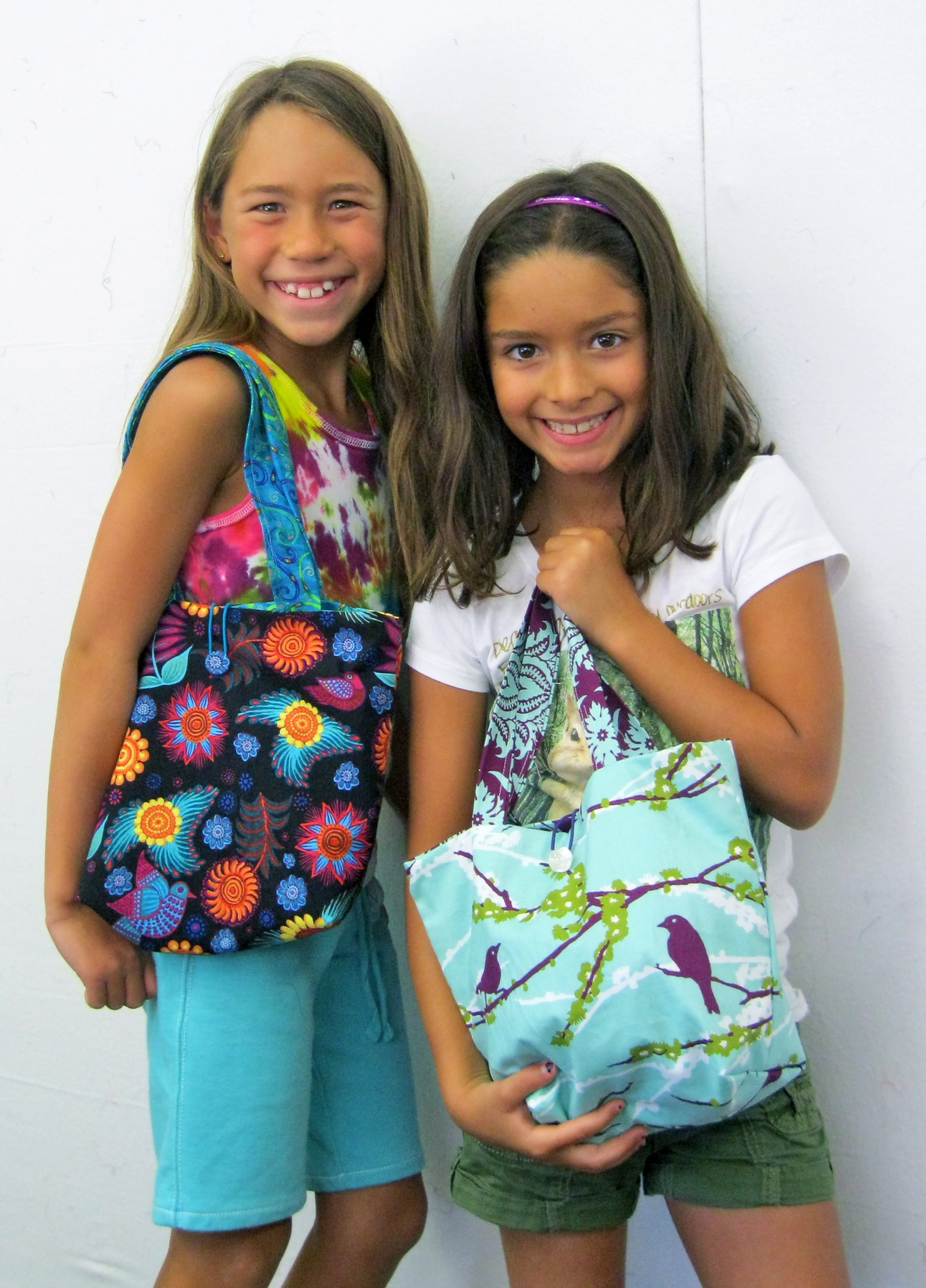 Little Bag Ladies!