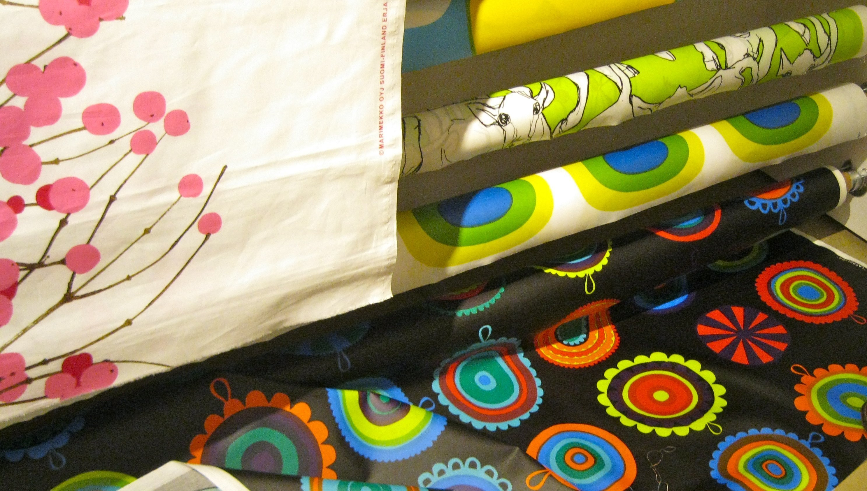 Marimekko fabric and PVC vinyl