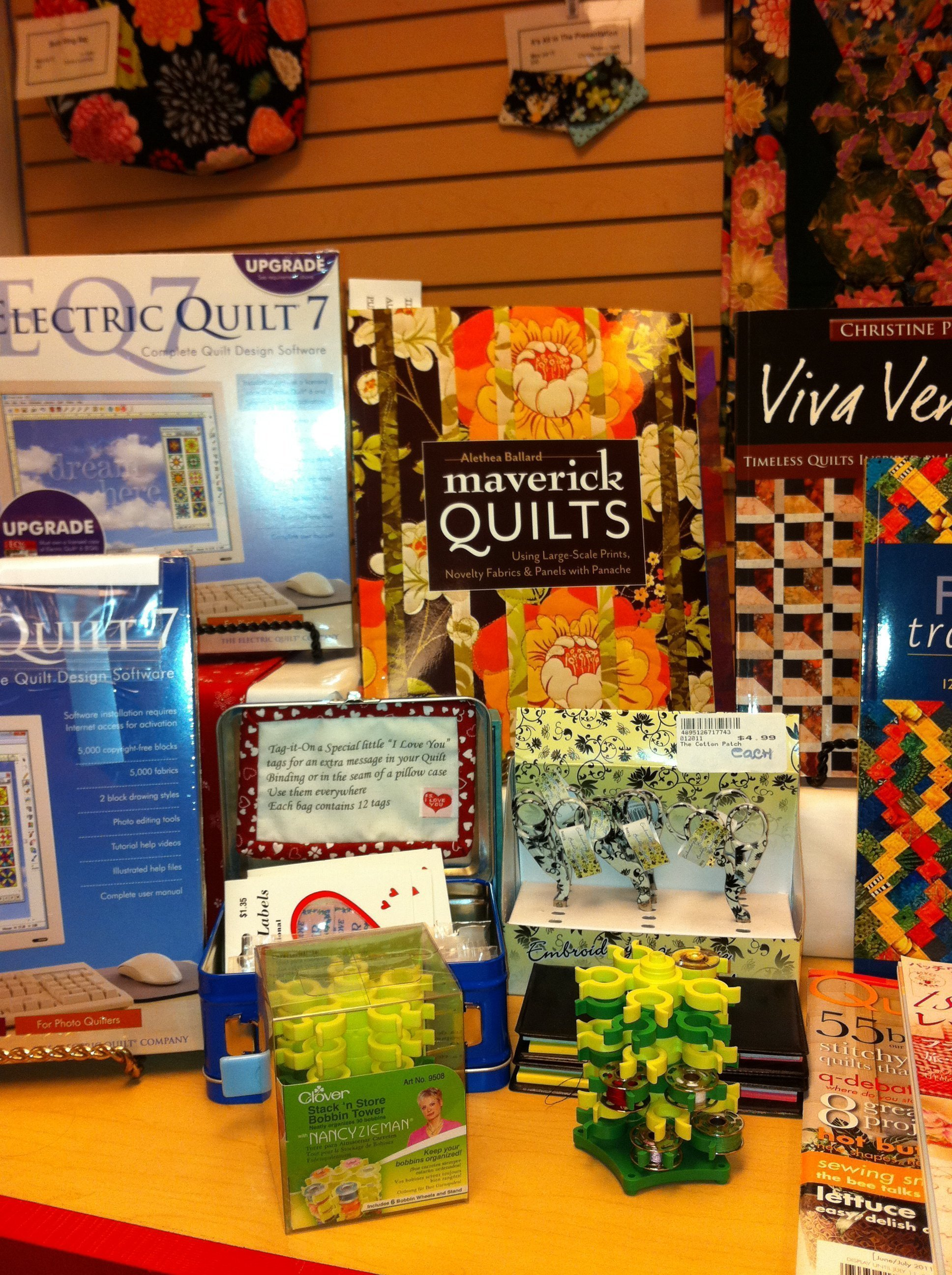 Seeing Maverick Quilts for sale when I go somewhere!