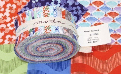 Good Fortune fabric jelly roll - yumbalia!
