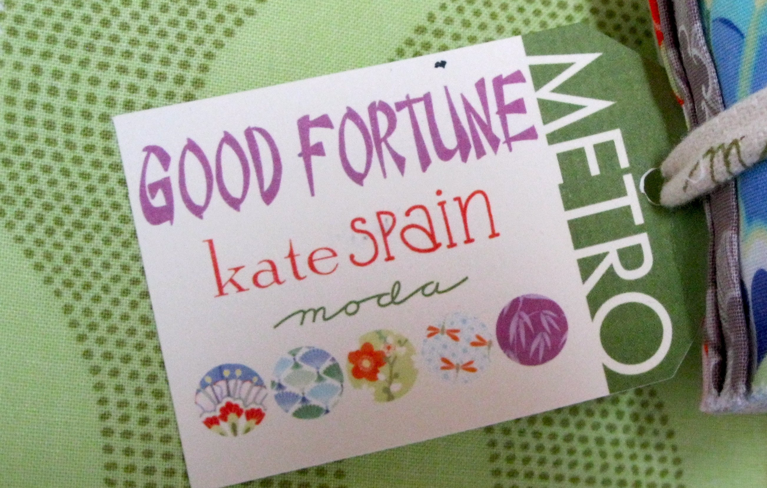 Must Have Fabric 2.2 – give yourself a little Good Fortune!