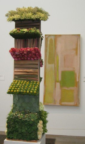 Michael Daigian's bouquet to go with the Rothko