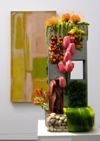 Alena Jean Whiting's bouquet for the Rothko, from 2011