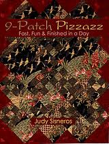 9-Patch Pizzazz, by Judy Sisneros