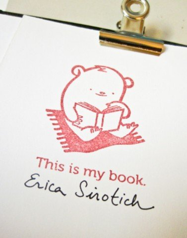 This is my book letterpress, by Erica Sirotich