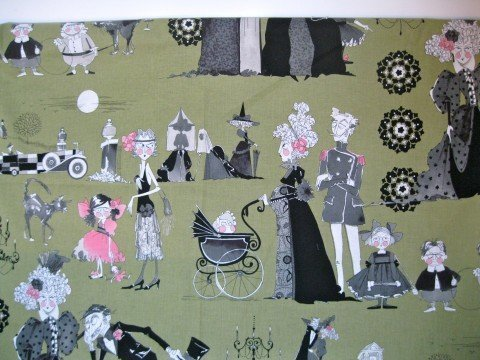 A Ghastlie Family Reunion fabric from Alexander Henry Fabrics