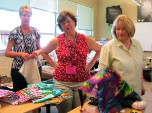 Maverick Quilters at work!
