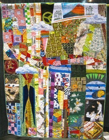 Quilt for the Latest Sexagenarian, by Mike McNamara