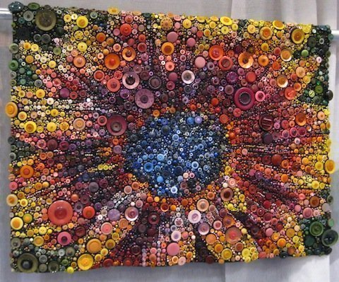 Red Sunflower, by Susan Bianchi