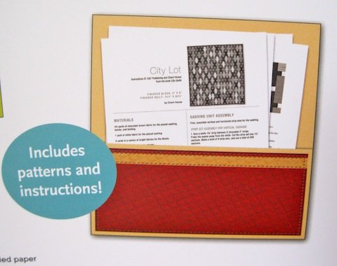 Pocket with full instructions
