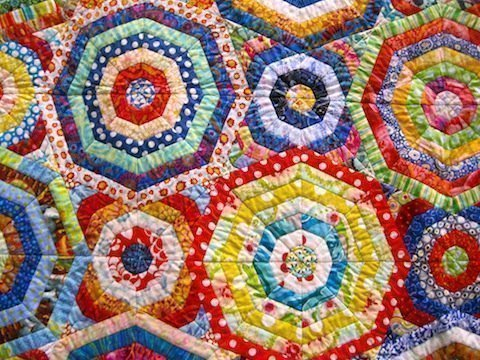 detail of Millefiori, by Chris Kenna