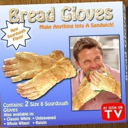 Bread gloves - why didn't I think of that?