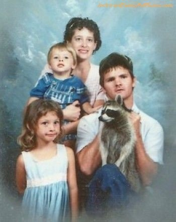 Family photos with the pet - good idea