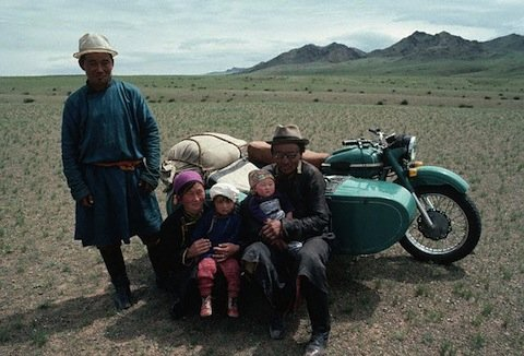 My Mongolian host family