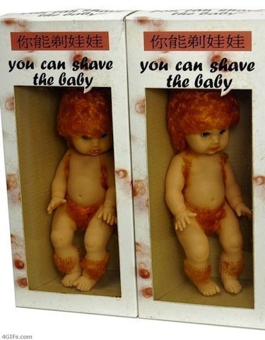 You can shave this baby!
