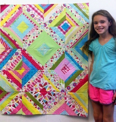 Zippidy Do Da Quilt, by Mia; 2012