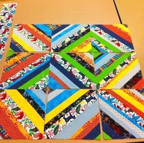 Lovely baby quilt blocks