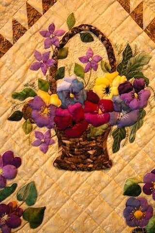 Fabulous Floral Quilts – Old and New