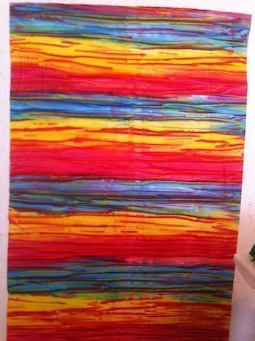 Colorful batik
