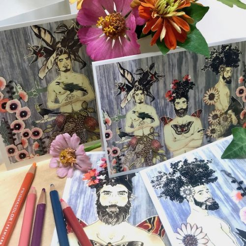 Midsummer Night's Dream Notecard Set