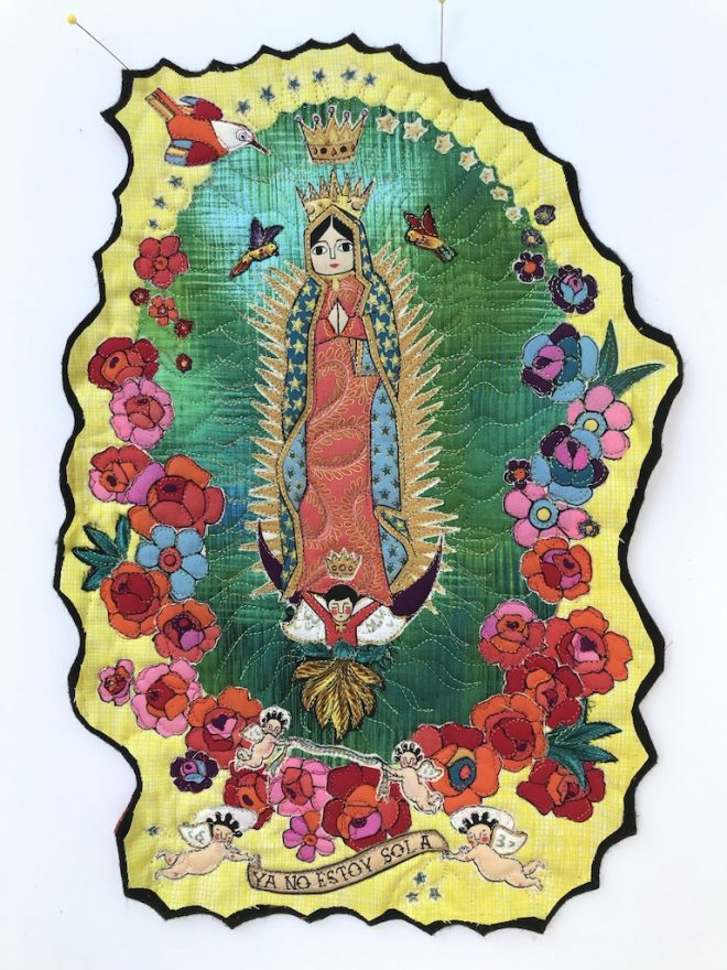 La Virgencita notecard