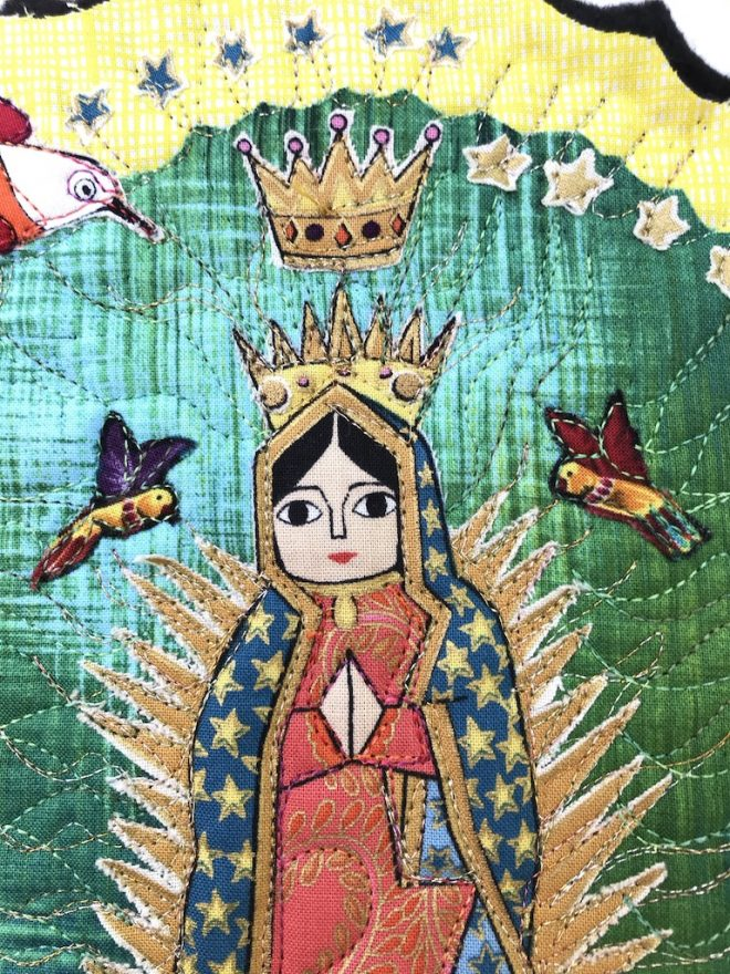 Detail of La Virgencita