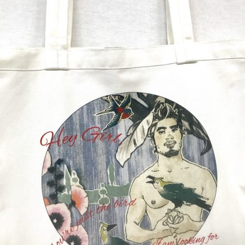 Hey Girl Tote - Bird Boy